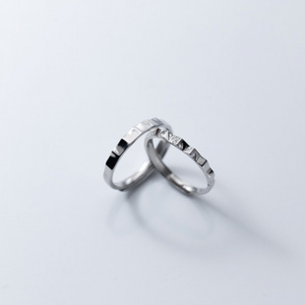 A34389 s925 sterling silver rhinestone chic trendy ring